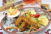 Mexican speciality Jalapenos frito — Stock Photo