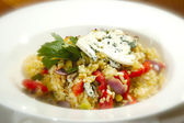 İtalyan risotto vegetariana — Stok fotoğraf