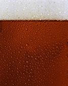 Trama di vetro di birra nera rugiadoso — Foto Stock