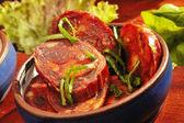 Mexican speciality Chorizo — Stock Photo