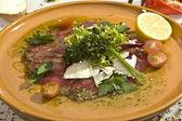 Carpaccio Mexican speciality — Stock Photo