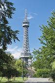 Prague Lookout Tower — Stock Photo