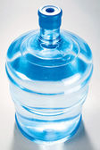 Blue water tank — Stock Photo