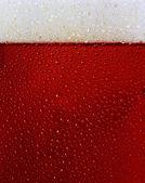 Dewy cola glass texture — Stock Photo