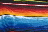 Kolorowe ponczo meksykański — Zdjęcie stockowe