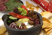 Komposto w jalapenos sığır eti — Stok fotoğraf