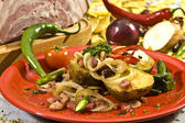 Meksykańskie ziemniaków — Zdjęcie stockowe