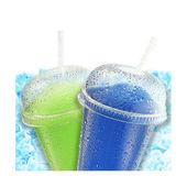 Crushed ice fruit refreshment — Stock Photo