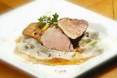 Filetto di maiale arrosto — Foto Stock