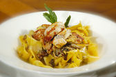 Papardelle polo — Stock Photo