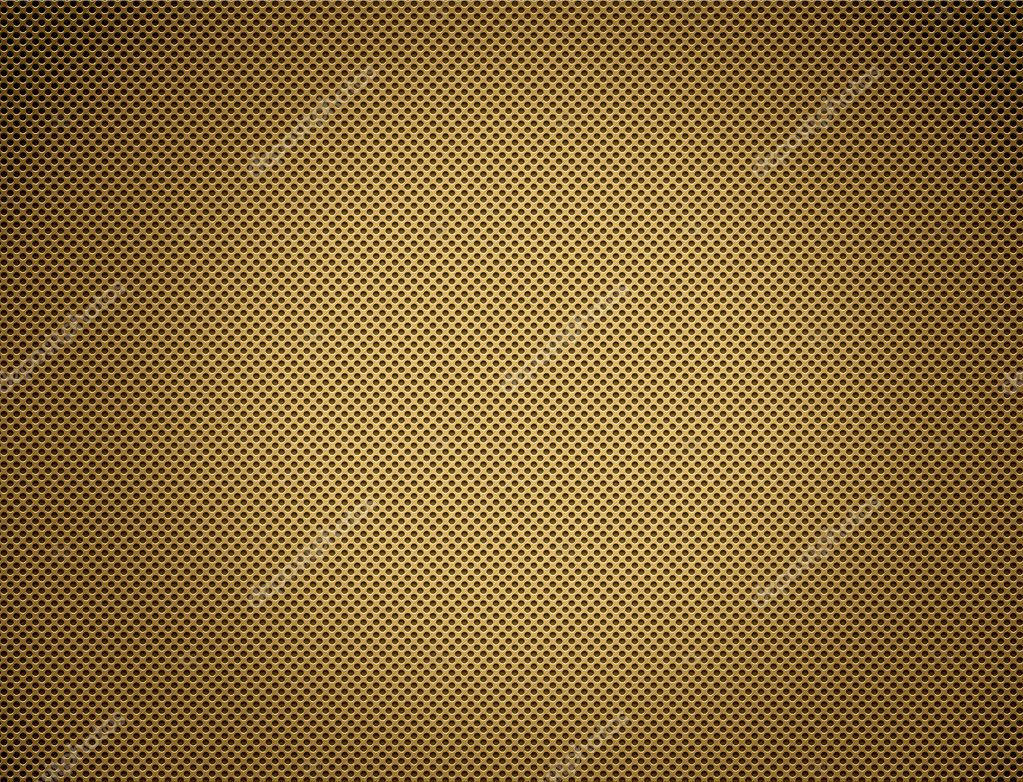 The Perforated seamless golden metal plate  — Stock Photo #4983915