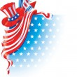 Fourth of July — Image vectorielle