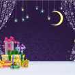 Christmas stagy Background - Stock Vector