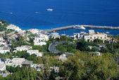 Anacapri na ilha de capri — Foto Stock