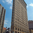 het flatiron gebouw in new york city — Stockfoto