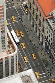 Le taxi de la ville de new york — Photo