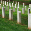Gravestones on Arlington National Cemetery — Stock Photo