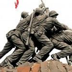 Iwo Jima Memorial in Washington DC — Stock Photo