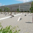 Pentagon memorial in Washington DC — Foto Stock