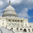 United States Capitol in Washington DC - Stock Photo