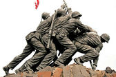 Iwo Jima Memorial in Washington DC — Stock Photo