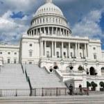 在华盛顿特区美国国会大厦 — 图库照片