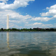 washington monument in washington dc — Stock Photo