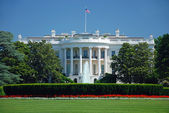 The White House in Washington DC — Foto Stock