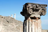Column in Pompei — Stock Photo
