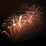 New Year celebration firework — Stock Photo