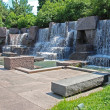 Stock Photo: Franklin Delano Roosevelt Memorial in Washington DC