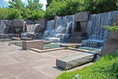Franklin Delano Roosevelt Memorial in Washington DC — Stock Photo