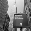 The Empire State Building in New York City — Stock Photo #5106224