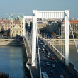 Royalty-Free Stock Photo: Elizabeth bridge in Budapest