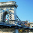 Stock Photo: Chain Bridge in Budapest