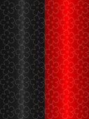 Black and red abstract background — Stock Photo