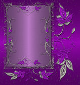 Purple vintage background — Stock Photo