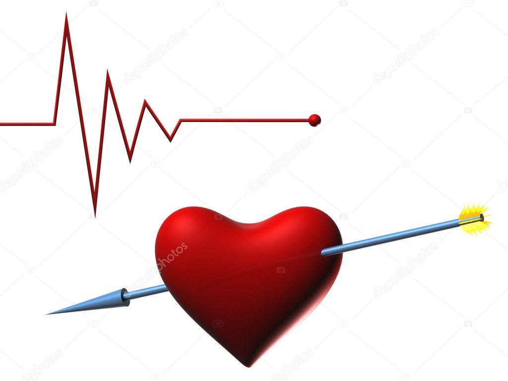 Q Comen Los Golden Retriever Heartbeat Black And Wh...