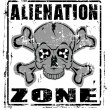 Stock Vector: Alienation Zone
