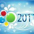 New year — Vector de stock #5361082