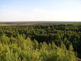 Mountain Myanduha, Severoonezhsk, Russia — Stock Photo