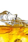 Whiskey on the rocks — Stock Photo