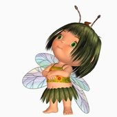Toon fairy — Stock Photo