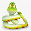 Snake toon - Stock Photo