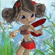 Toon fairy - Foto de Stock