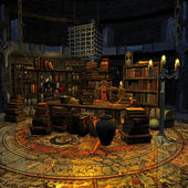 Wizard's room — Stock fotografie