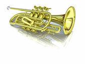 Trompet — Stock Photo