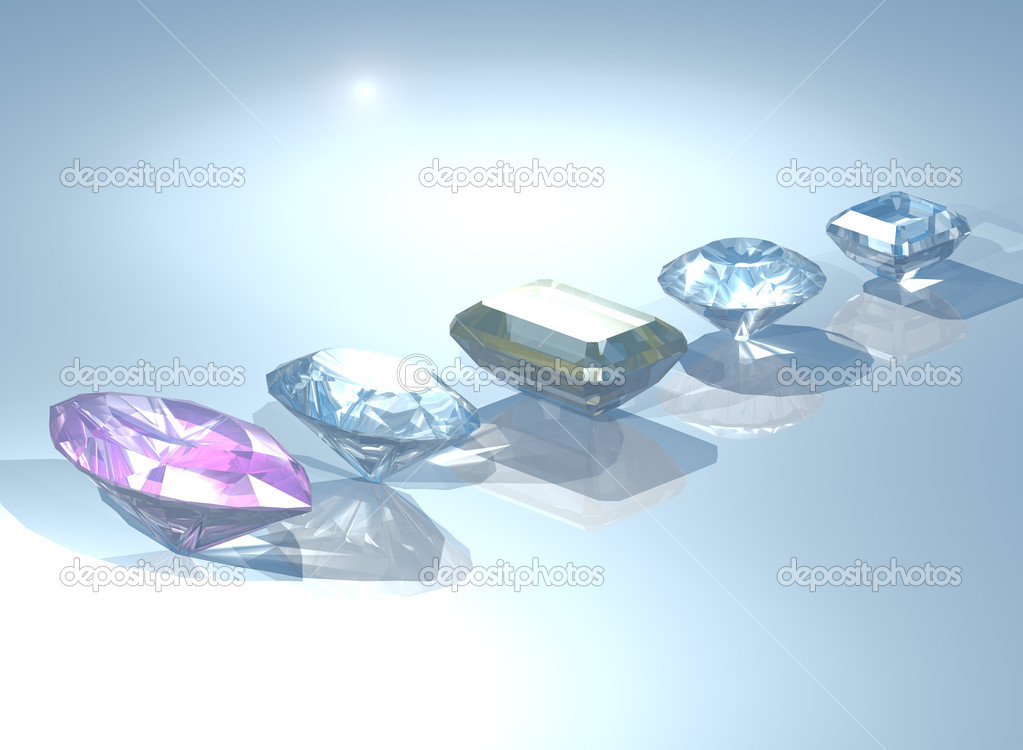 Gemstones  Stock Photo #5019101