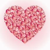 Сердца — Cтоковый вектор