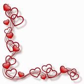 Moldura de coração — Vetorial Stock